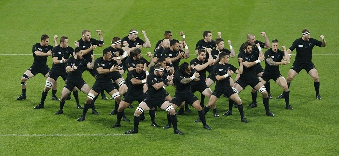 New Zealand All Blacks Haka 2015 Rugby World Cup