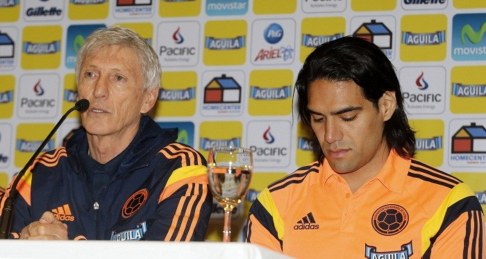 Jose Pekerman Radamel Falcao Colombia