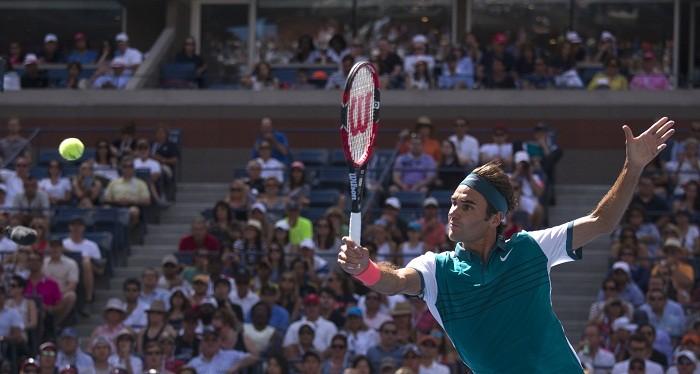 Roger Federer US Open 2015 3rd Round