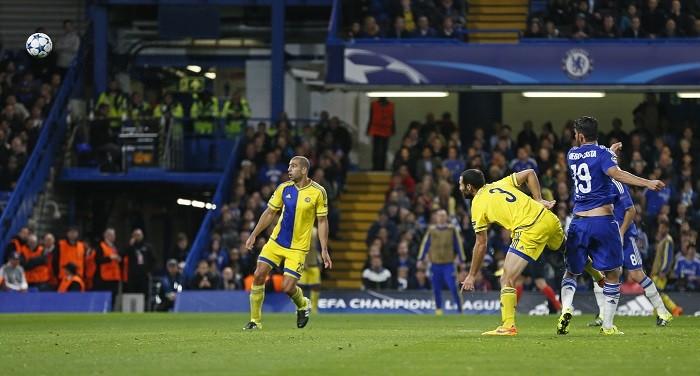 Diego Costa Chelsea Maccabi Tel Aviv