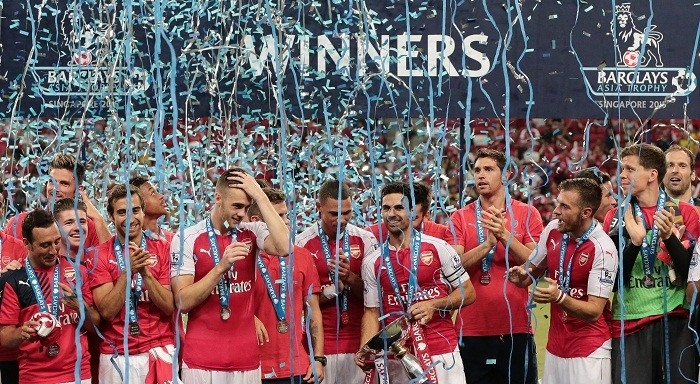 Arsenal Barclays Asia Trophy 2015