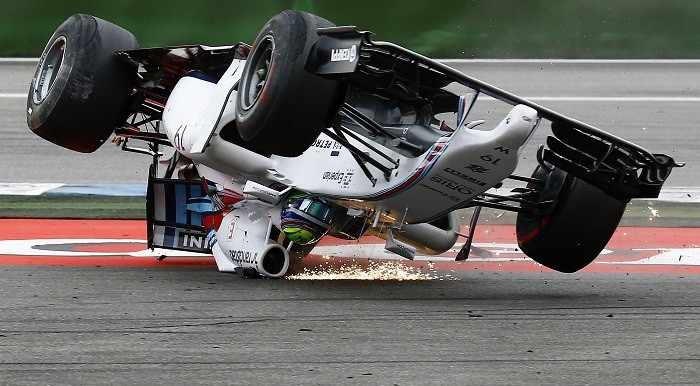 Felipe Massa Crash
