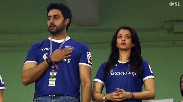 Abhishek Bachchan Aishwarya Rai ISL