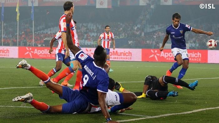 Chennaiyin FC Atletico de Kolkata ISL 2014