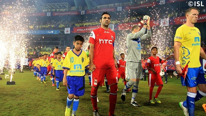 NorthEast United FC Kerala Blasters