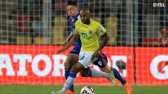 Marcus Williams Kerala Blasters Darryl Duffy FC Goa