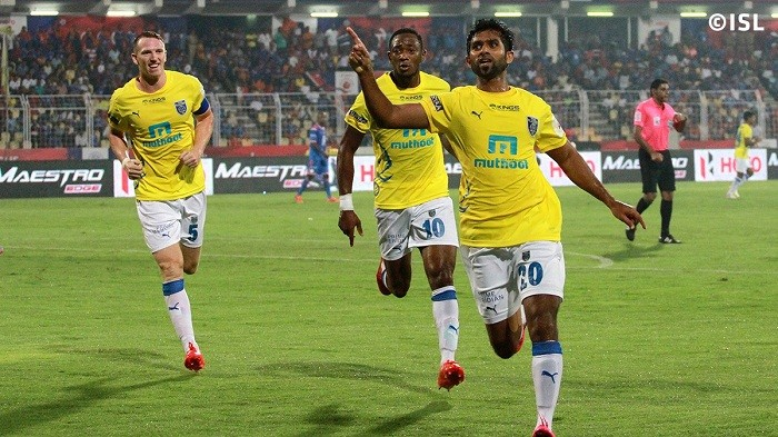 Ramage Watt Rafi Kerala Blasters ISL 2015