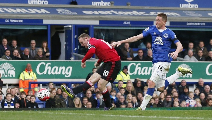 Wayne Rooney Manchester United James McCarthy Everton