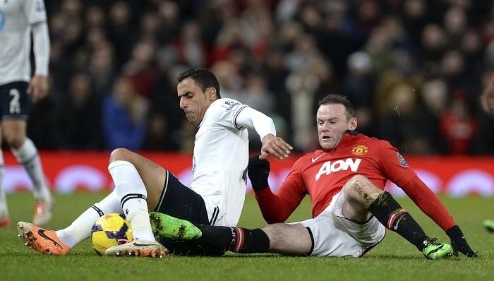 Chadli Tottenham Rooney Manchester United