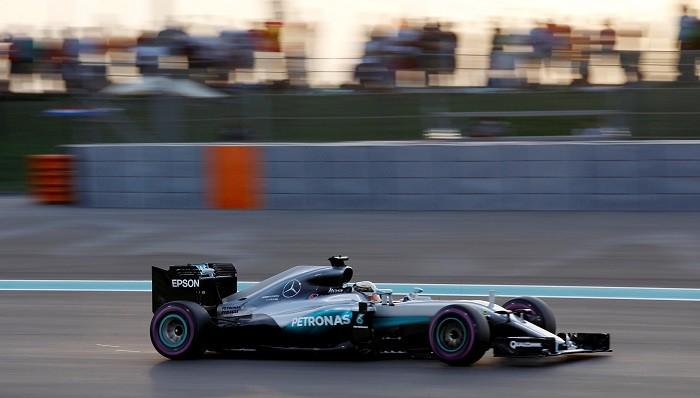 Lewis Hamilton Abu Dhabi GP