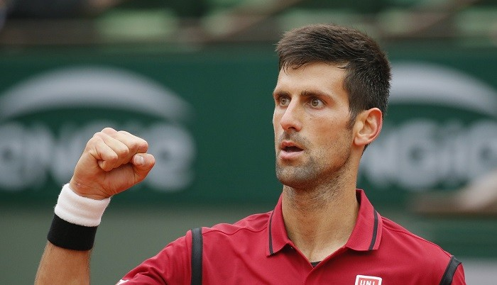 Novak Djokovic French Open 2016