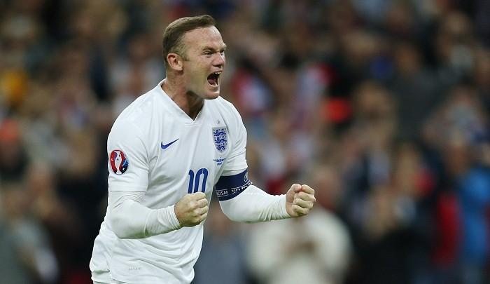 Wayne Rooney England Record