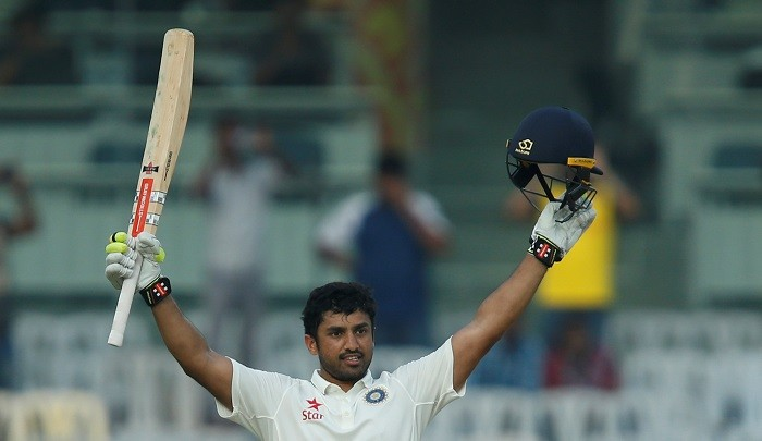 Karun Nair India triple century