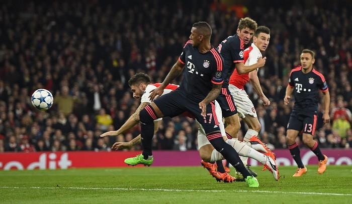 Olivier Giroud Arsenal Bayern Munich