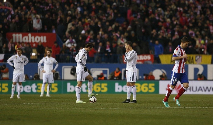 Real Madrid Cristiano Ronaldo Gareth Bale Atletico Madrid Raul Garcia