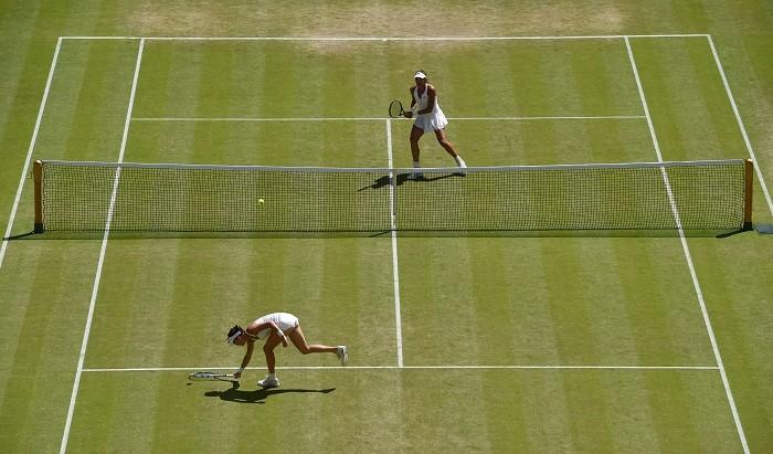 Agnieszka Radwanska Garbine Muguruza Wimbledon 2015