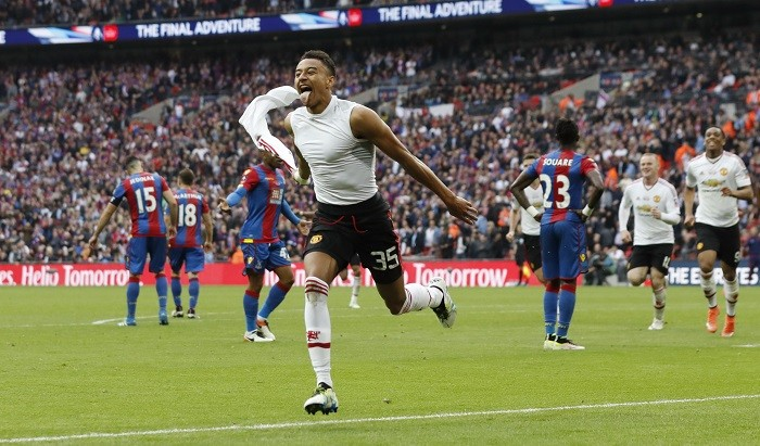 Jesse Lingard Manchester United FA Cup final