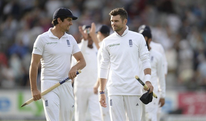 Alastair Cook, James Anderson