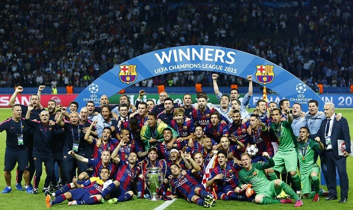 Champions League 2015 Barcelona