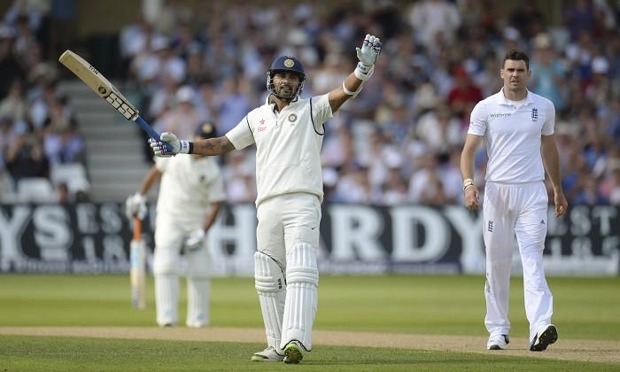 Murali Vijay India England James Anderson