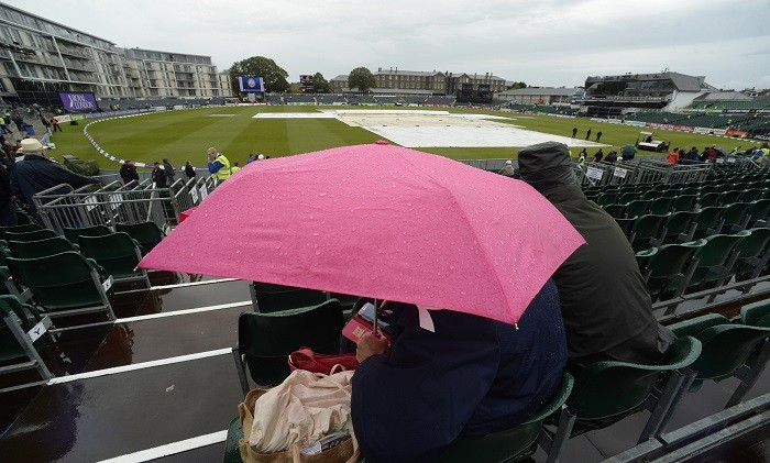 Bristol England vs India Rain