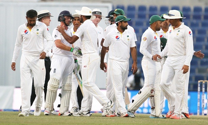 Pakistan England Test match