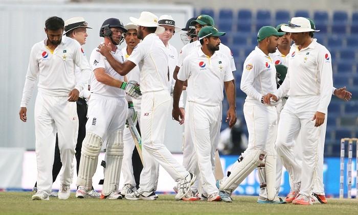 Pakistan England Test match
