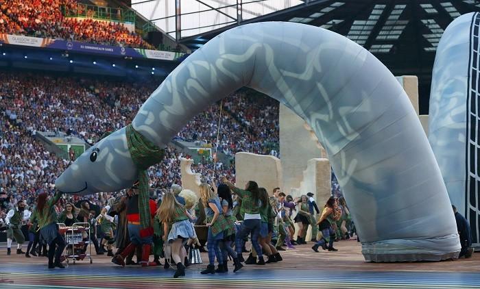Glasgow opening ceremony 2014