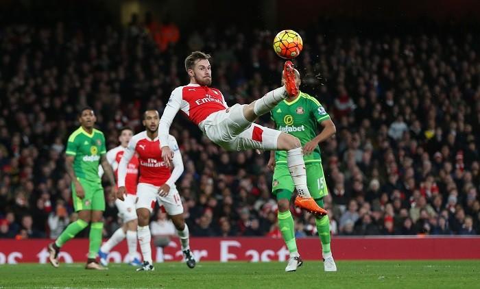 Aaron Ramsey Arsenal Sunderland