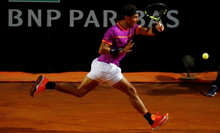 Dominic Thiem ends Rafael Nadal's unbeaten run