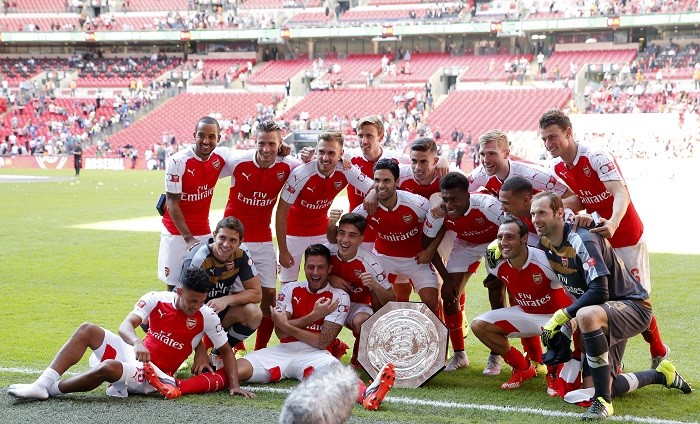 Arsenal Community Shield 2015