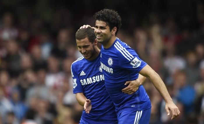 Chelsea Eden Hazard Diego Costa