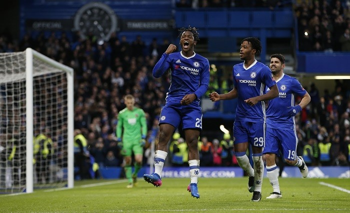 Costa On Target As Blues Book Quarter Final Place