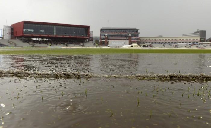 Rain England vs India Manchester Old Trafford