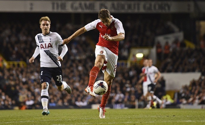 Mathieu Flamini Arsenal Tottenham