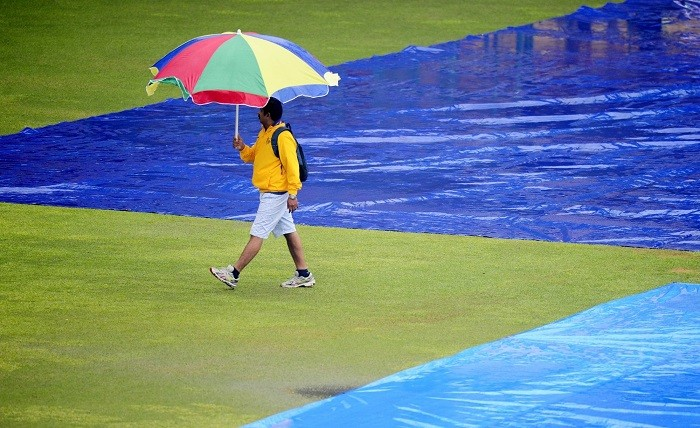 India South Africa 2nd Test Rain