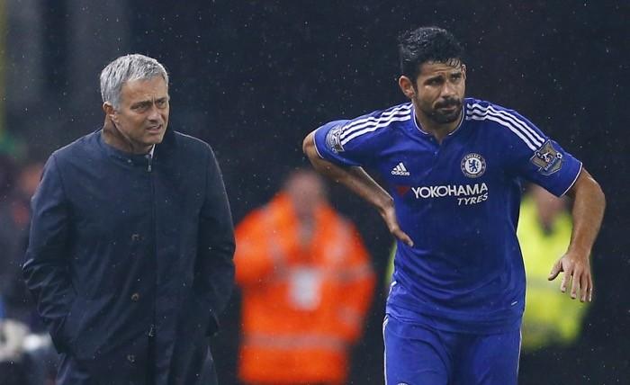 Jose Mourinho-Diego Costa