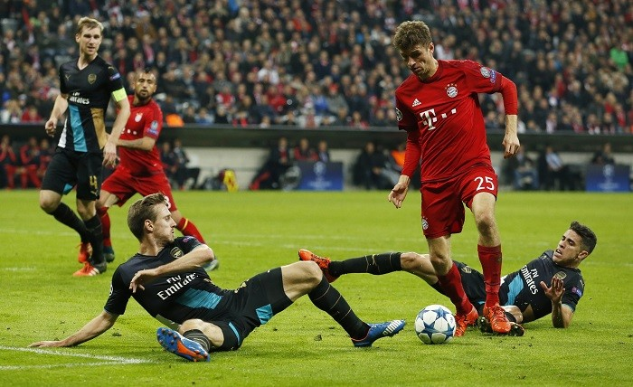 Wounded Wenger admits Bayern Munich were better than Arsenal