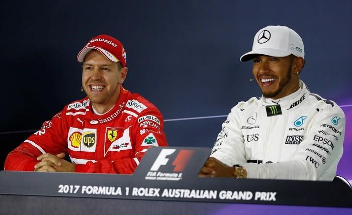 Lewis Hamilton, Sebastian Vettel, Formula one news, Australian Grand Prix, Chinese Grand Prix, 2017 Formula one season