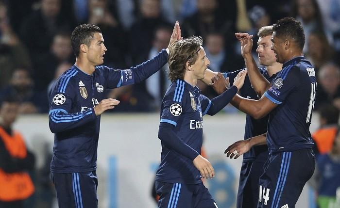 Cristiano Ronaldo Luka Modric Real Madrid