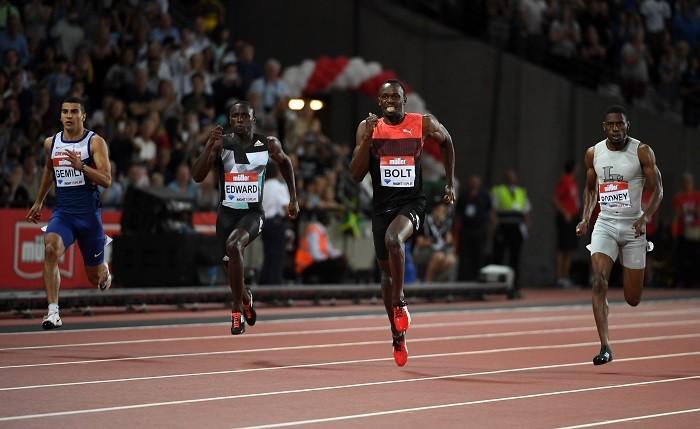 Usain Bolt London Anniversary Games 2016