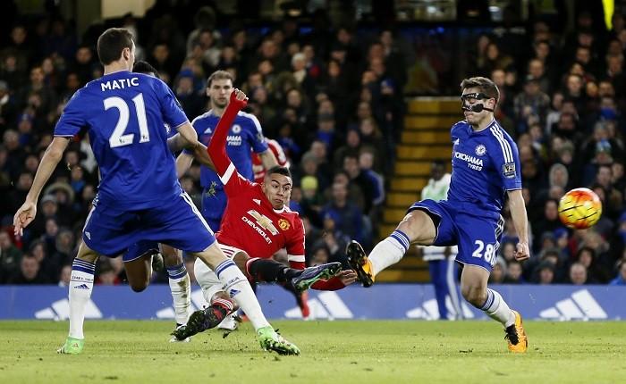 Jesse Lingard Manchester United Cesar Azpilicueta Chelsea