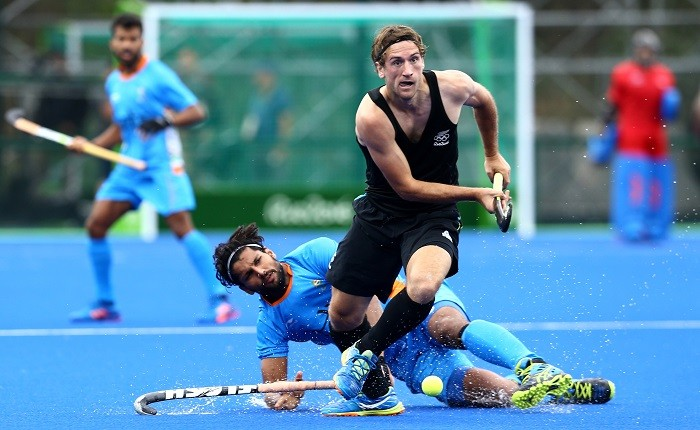 India New Zealand Olympics