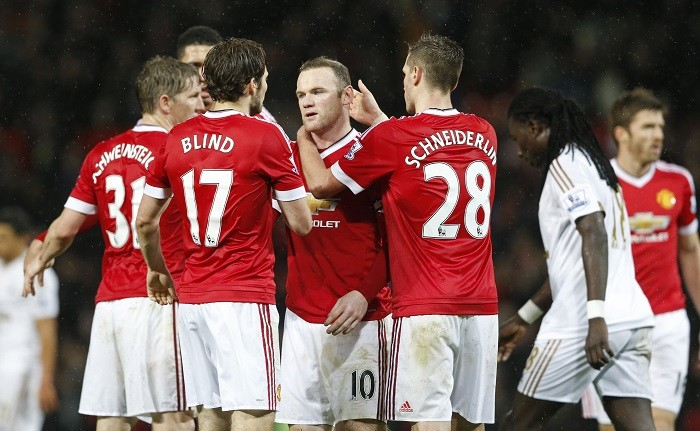 Manchester United Rooney Schneiderlin