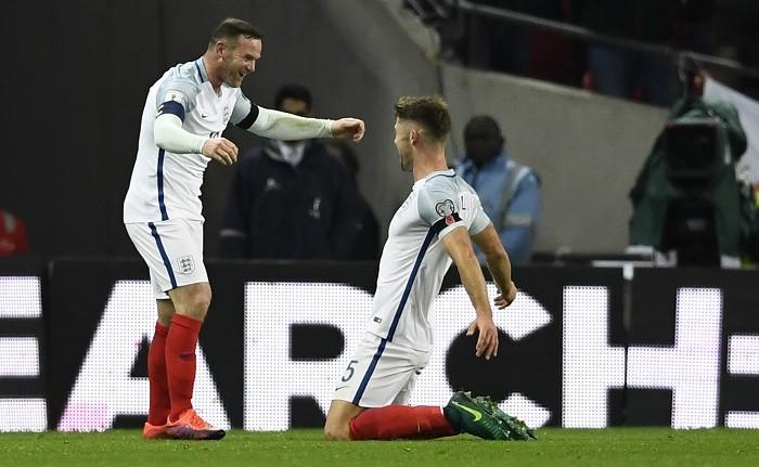 Wayne Rooney Gary Cahill England