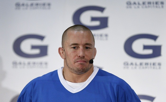 George St-Pierre George St Pierre to return to UFC UFC UFC news Dana White George St Pierre news
