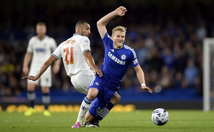 Andre Schurrle Chelsea Bolton
