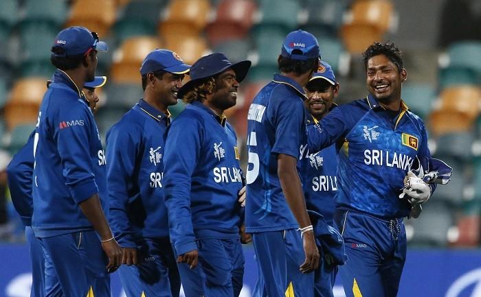 Lasith Malinga Kumar Sangakkara Sri Lanka ICC Cricket World Cup 2015