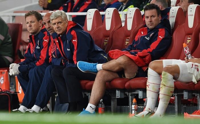 Arsenal Arsene Wenger Steve Bould Lewin