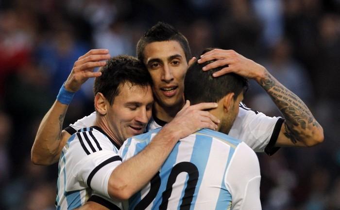Argentina Messi Di Maria Aguero